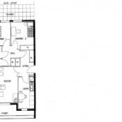 Mâcon, Appartement 3 pièces, 66,07 m2