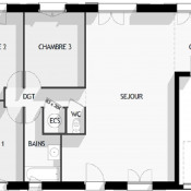 Maison avec terrain Cessey-sur-Tille 90 m²