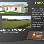 Terrain 410 m² Loriol-sur-Drôme (26270)