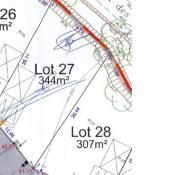 Terrain 344 m² Orvault (44700)