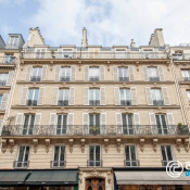 Paris 4ème, Studette 1 Zimmer, 8,9 m2