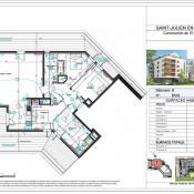 Vente de prestige appartement St julien en genevois 637000€ - Photo 1