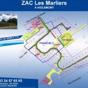 Terrain 645 m² Aiglemont (08090)