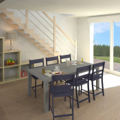 Maison 4 pièces + Terrain Cappelle-Brouck
