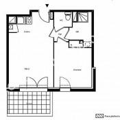 Castanet Tolosan, Apartamento 3 assoalhadas, 61,98 m2