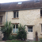 Asnières sur Oise, Maison de village 3 pièces, 60 m2