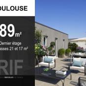 Toulouse, Appartement 4 pièces, 89 m2