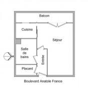 location Appartement 1 pièce Lyon 6ème