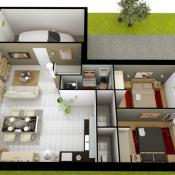 Maison 4 pièces + Terrain Yzernay