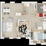 Maison 4 pièces + Terrain Truyes