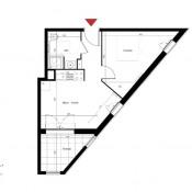 Marseille 6ème, Wohnung 2 Zimmer, 35,94 m2
