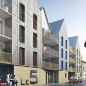 Chartres, 2 комнаты, 42,93 m2