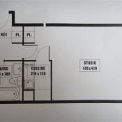 vente Appartement 1 pièce Le Bourget