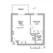 location Appartement 2 pièces Marsac sur l'Isle