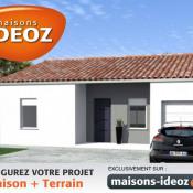 Maison 6 pièces + Terrain Prignac-et-Marcamps