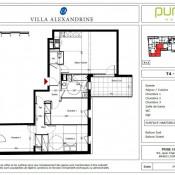 location Appartement 4 pièces Beauzelle
