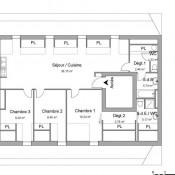 Vitré, Apartment 4 rooms, 84.57 m2