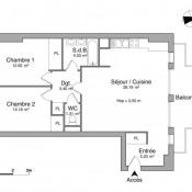 Garches, Apartamento 3 assoalhadas, 66,94 m2