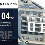 vente Appartement 4 pièces Juan-les-Pins