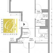 Meudon la Foret, Apartamento 3 assoalhadas, 56 m2