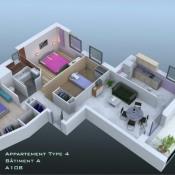 produit d'investissement Appartement 4 pièces Perrigny-Lès-Dijon