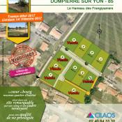 Terrain 520 m² Dompierre sur Yon (85170)