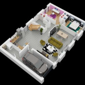 Maison 6 pièces + Terrain Gallardon