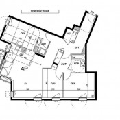 Montrouge, 公寓 4 间数, 86 m2