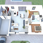 Maison 4 pièces + Terrain Le Bernard