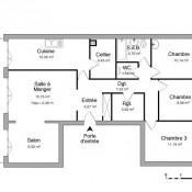 Chilly Mazarin, Apartamento 5 assoalhadas, 100 m2