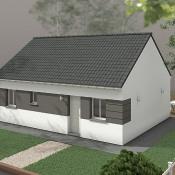Maison 3 pièces + Terrain Envermeu