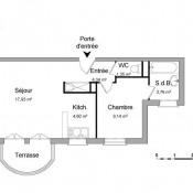 Corbeil Essonnes, квартирa 2 комнаты, 41,12 m2