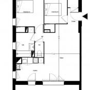 Saint Médard en Jalles, Appartement 3 pièces, 65 m2