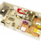 Maison 4 pièces + Terrain Donzere