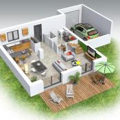 Maison 4 pièces + Terrain Dortan
