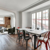 Boulogne Billancourt, Двухуровневая квартира 7 комнаты, 123 m2