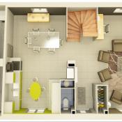 Maison 6 pièces + Terrain Labastidette