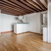 Paris 4ème, Wohnung 3 Zimmer, 61 m2