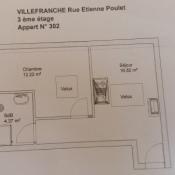 location Appartement 2 pièces Villefranche sur Saone