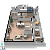 Issy les Moulineaux, Двухуровневая квартира 5 комнаты, 120 m2