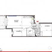 Dardilly, Appartement 3 pièces, 62,3 m2