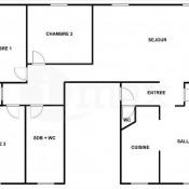Bois Colombes, Appartement 6 pièces, 119,5 m2