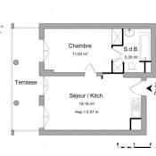 location Appartement 2 pièces Le Plessis Robinson