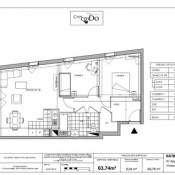 location Appartement 3 pièces Cergy