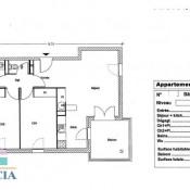 vente Appartement 3 pièces Montelimar