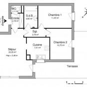 location Appartement 3 pièces Tilloy-les-Mofflaines