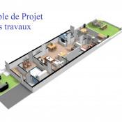 Nantes, Собственность 5 комнаты, 70 m2