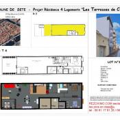 Sète, Appartement 4 pièces, 124 m2
