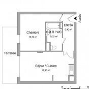 Montmorency, Appartement 2 pièces, 44,39 m2