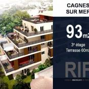 Cagnes sur Mer, Appartement 4 pièces, 93 m2